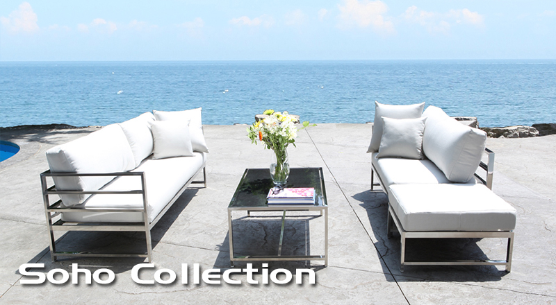 Cabana Coast Outdoor Furniture McGowan Outdoor > Stainless Steel > Outdoor & Patio Furniture
